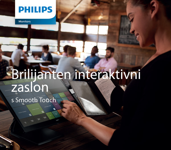 Monitor na dotik Philips 222B9T in 242B9T