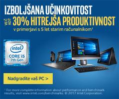 Intel 7 generacija - izboljsana ucinkovitost racunalnika