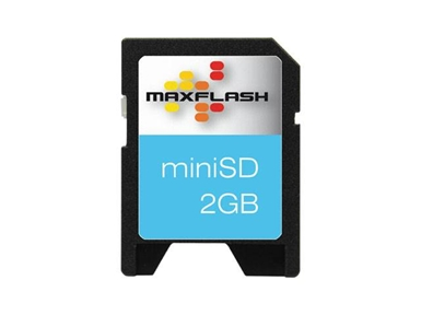 Spominska kartica Mini Secure Digital (miniSD) 2GB Max-Flash (60x)