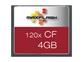 Spominska kartica Compact Flash (CF) 4GB Max-Flash (120x)