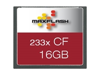 Slika Spominska kartica Compact Flash (CF) 16GB Max-Flash (233x)