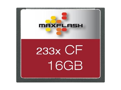 Spominska kartica Compact Flash (CF) 16GB Max-Flash (233x)