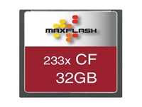 Slika Spominska kartica Compact Flash (CF) 32GB Max-Flash (233x)
