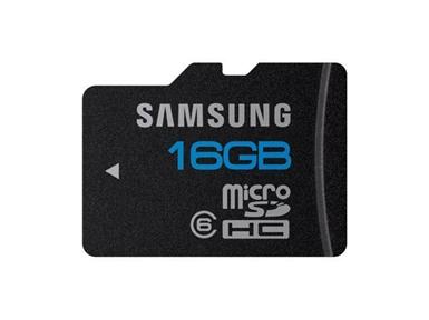 Spominska kartica Micro Secure Digital (microSDHC) SAMSUNG Essential 16GB (Class 6) MB-MSAGA/EU