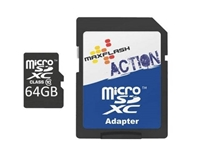 Slika Spominska kartica Micro Secure Digital (microSDXC) Action 64GB Max-Flash