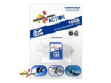 Spominska kartica Secure Digital Maxflash Action 16GB (SDHC)