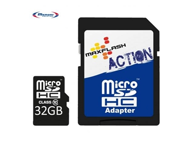 Spominska kartica Micro Secure Digital (microSDHC) Action 32GB Max-Flash