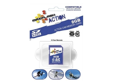Spominska kartica Micro Secure Digital (microSDHC) Action 8GB Max-Flash