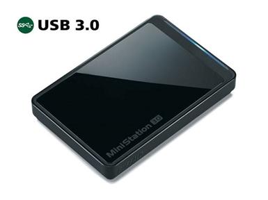 Prenosni trdi disk Buffalo MiniStation 500GB USB 3.0 HD-PCT500U3/B