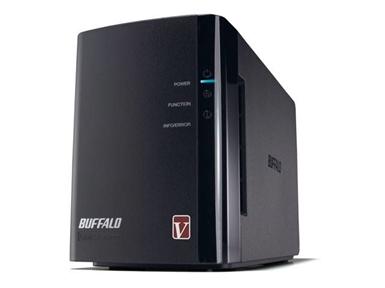 Zunanji USB/LAN trdi disk Buffalo LinkStation Pro Duo LS-WV6.0TL/R1