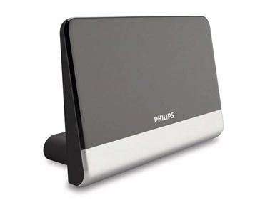 Sobna digitalna TV antena Philips z ojačitvijo 48 dB SDV6222 (HDTV/UHF/VHF/FM)