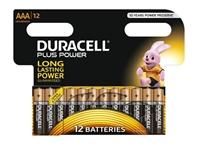 Slika Alkalne baterije Duracell Plus Power MN2400B12 AAA (12 kos)