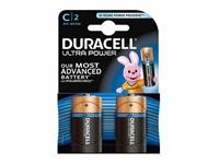 Slika Alkalne baterije Duracell Ultra Power MX1400B2 Size C LR14 (2 kos)