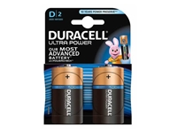 Slika Alkalne baterije Duracell Ultra Power MX1300B2 Size D LR20 (2 kos)