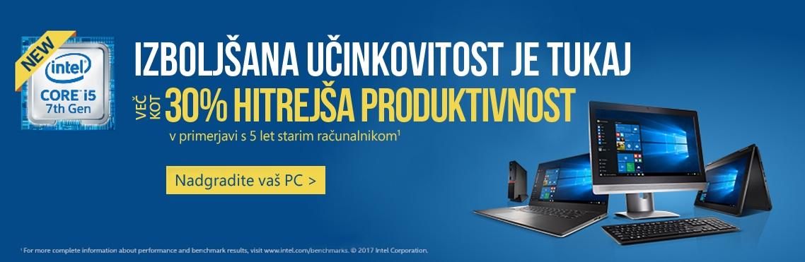 Računalniki PCH s 7. generacijo Intel Core procesorjev