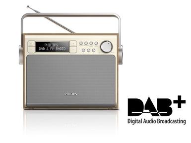 Prenosni radio Philips AE5020 (DAB+/FM)