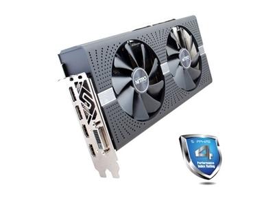 Grafična kartica Sapphire RX 580 NITRO+ (4GB GDDR5, 2xHDMI/DVI-D/2xDP, PCI-E)