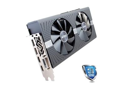 Grafična kartica Sapphire RX 570 NITRO+ (8GB GDDR5, 2xHDMI/DVI-D/2xDP, PCI-E)