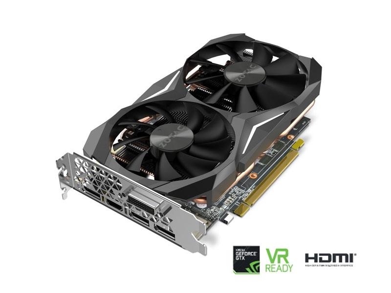 Grafična kartica ZOTAC GeForce GTX 1070 Ti Mini (8GB GDDR5,  3xDP/HDMI/DL-DVI-D)