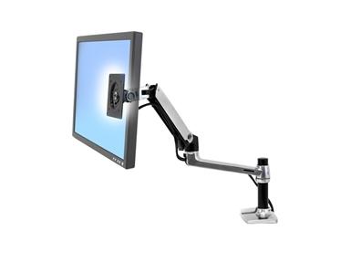 Namizni nosilec za monitor Ergotron LX Desk Mount LCD Arm (poliran aluminij)