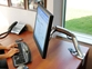 Namizni nosilec za monitor Ergotron MX Desk Mount LCD Arm (srebrn)