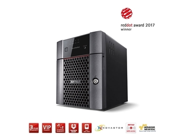 NAS naprava Buffalo TeraStation™ TS3410DN 12TB TS3410DN1204-EU (RAID JBOD/0/1/5/6/10)