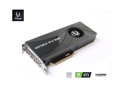 Grafična kartica ZOTAC GeForce RTX 2080 BLOWER (8GB GDDR6, 3xDP/HDMI/USB Type-C)
