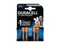 Alkalne baterije Duracell Ultra Power MX2400B4 AAA (4kos)