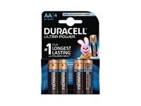 Alkalne baterije Duracell Ultra Power MX1500B4 AA (4 kos)