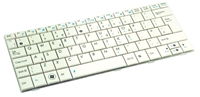Slika 04GOA191KUK10-2 Keyboard - UK (White)