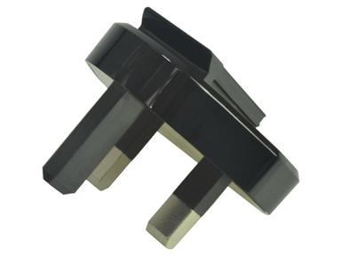 0A200-00080300 Adapter Plug Black (UK)