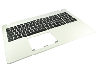 Slika 90NB02G3-R31FR0 White Keyboard w/Palmrest (French)
