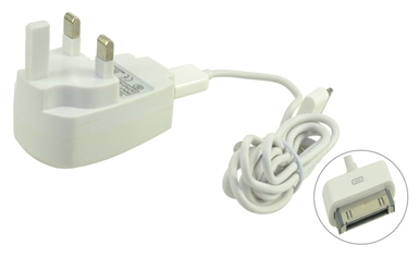 BUN0051A 2.4A Wall Charger-30 Pin USB Cable