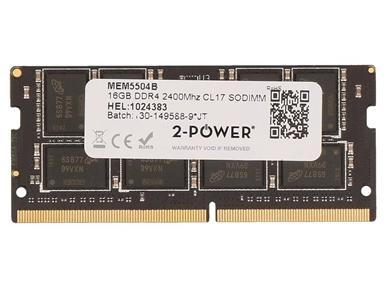 MEM5504B 16GB DDR4 2400MHz CL17 SODIMM