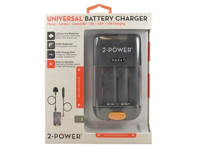 UDC5001A-RPEU Universal Camera Battery Charger-Retail