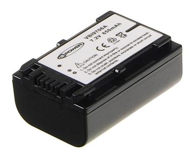 VBI9706A Camcorder Battery 6.8V 980mAh