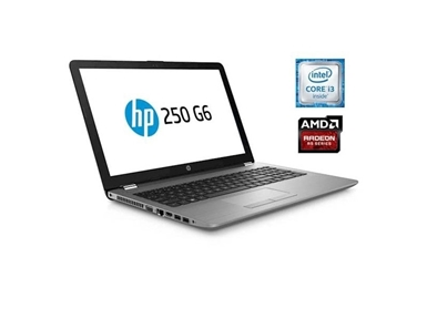 Prenosnik HP 250 G6 (i3/8GB/SSD 256GB/FHD/R 520 2GB/DOS) 4QW60ES