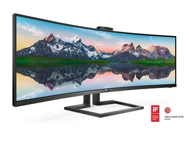 "LED monitor Philips 499P9H (49"" ukrivljen, Dual Quad HD) Brilliance"