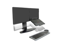 Namizni nosilec Ergotron Neo-Flex® za LCD zaslon in prenosni računalnik (33-331-085)
