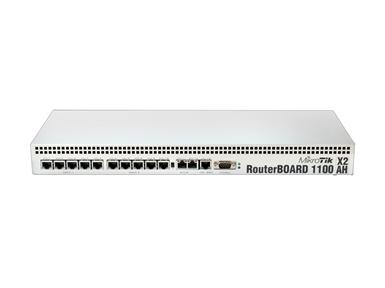 Vgradni usmerjevalnik Mikrotik RB1100AHx2 (13-portni Gigabit Ethernet)