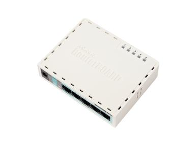 Brezžični usmerjevalnik Mikrotik RouterBOARD RB951-2n