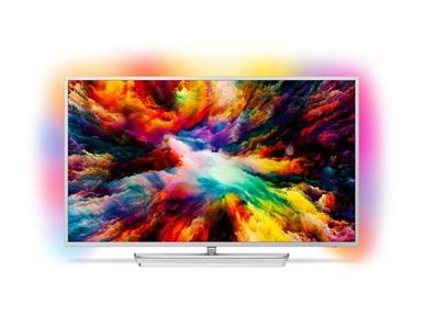 50 palčni TV Philips 50PUS7363  je izjemno tanek LED-televizor 4K UHD Smart z Ambilight