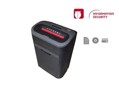 Uničevalec dokumentov Intimus 29 CP4 uničuje papir, CD medije in plastične kartice