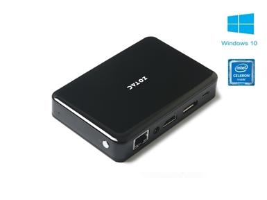 Mini-PC ZOTAC ZBOX pico PI335 GEMINI LAKE  (SFF, 4GB/64GB eMMC/HDMI/DP/BT/WiFi/LAN)