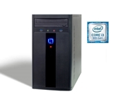 Osebni računalnik PCH PC-2381 (i3-9100F/1TB HDD) opremljen z 9. generacijo Intel Core procesorja i3. Bolj zmogljiv,bolj produktiven, bolj varen.