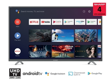 "LED TV sprejemnik SHARP 40BL2EA (40"" 4K UHD Android TV)"