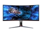 "LED Monitor AOC CU34G2X UltraWide (34"" Ukrivljen, WQHD) Gaming"