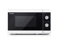 Mikrovalovna pečica Sharp MS01E-W (20 L, 800W, prostostoječa, bela)
