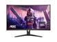 "LED monitor AOC CQ32G2SE/BK (31.5"" QHD ukrivljen 165 Hz) Gaming"