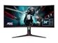 "LED monitor AOC CU34G2/BK (34"" WQHD VA ukrivljen 100Hz) Gaming"